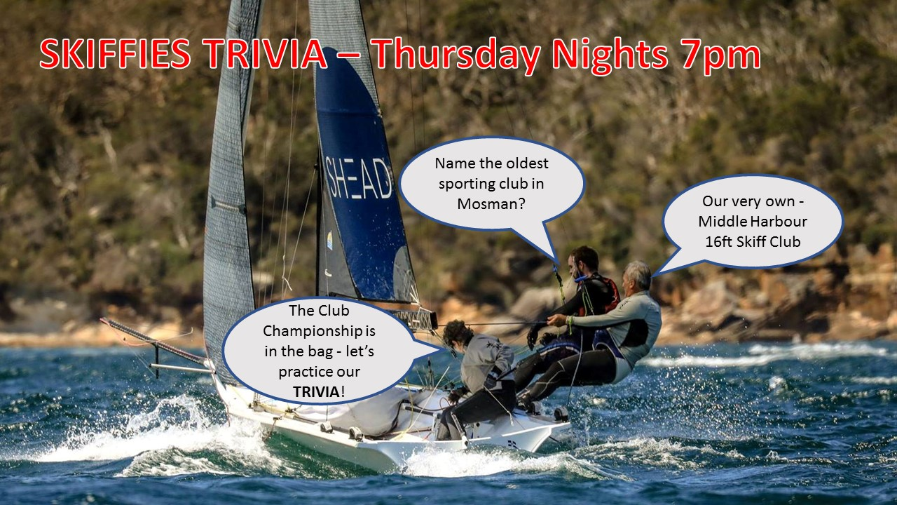 SKIFFIES TRIVIA – THURSDAY NIGHTS from 7pm